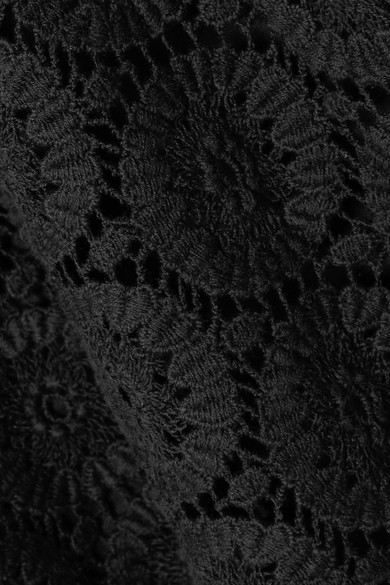 See by Chloé Minikleid aus schnurgebundener Baumwollspitze