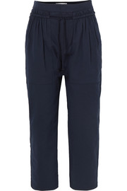 See by Chloé Cotton-twill tapered pants
