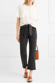 See by Chloé Layered chiffon top