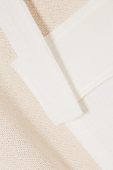 Steckdose Modische See by Chloé Oversized-Sweatshirt aus Voile und Jersey aus einer Baumwollmischung mit Kapuze Die Billigsten Verkauf 2018 Neue Ausgezeichnete Günstig Online SAGkluJQ