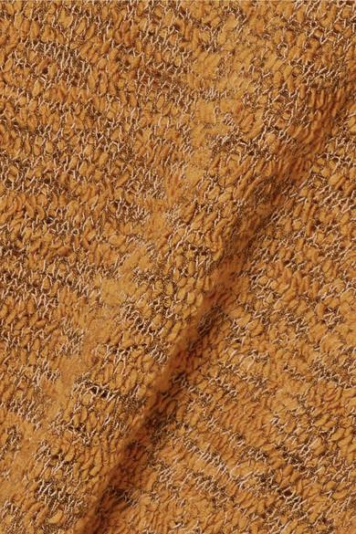 See by Chloé Pullover aus einer Wollmischung in Lochstrick