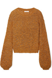 See by Chloé Open-knit wool-blend sweater