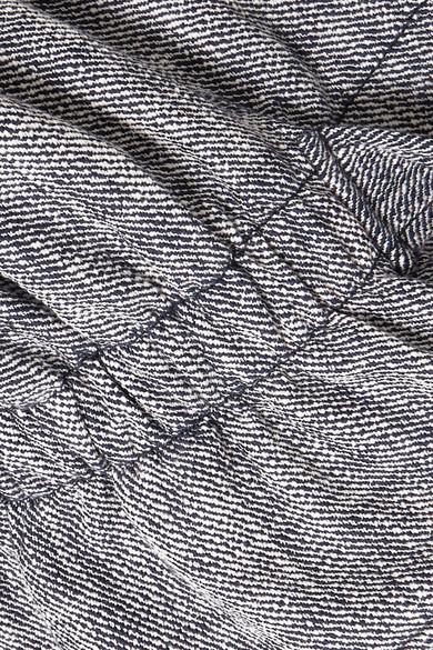 See by Chloé Jacke aus einer Baumwollmischung mit Kordelzug