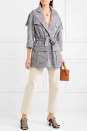 See by Chloé Drawstring cotton-blend jacket