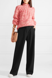 See by Chloé Stretch-twill wide-leg pants