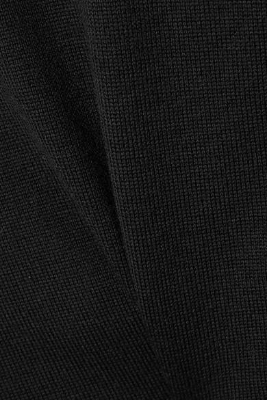 Alexander Wang Mehrlagiger Pullover aus Merinowolle und einer Baumwollmischung