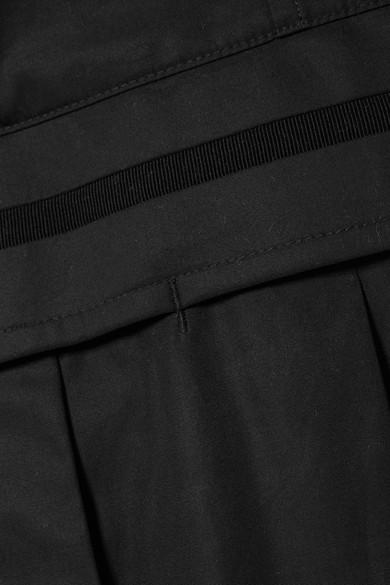 Alexander Wang Mehrlagiger Jumpsuit aus Baumwollpopeline und Jersey Factory-Outlet-Online Freies Verschiffen Auslass Neue Stile Günstig Online Günstig Kaufen Billig vlslLbg