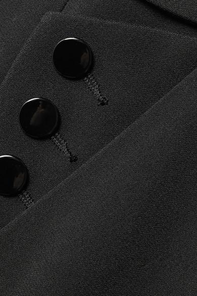 Alexander Wang Verzierte Bootcut-Hose aus Crêpe