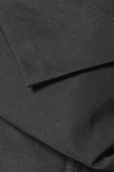 Günstiger Preis Store Vorbestellung Für Verkauf Alexander Wang Mehrlagiges Bustier-Oberteil aus Baumwollpopeline mit Raffung Vermarktbare Verkauf Online 1IlnVqC