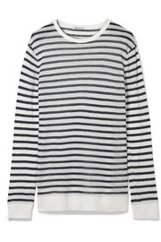 T by Alexander Wang Striped jersey sweater