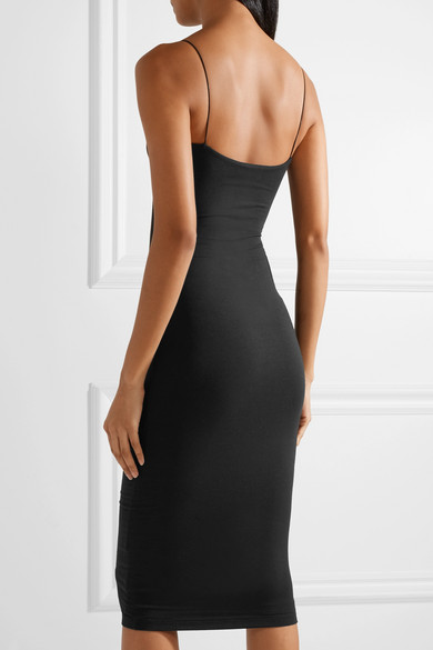 T by Alexander Wang Kleid aus Stretch-Modal mit Cut-out