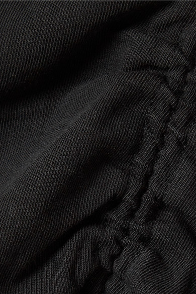 Countdown-Paket Billig Zu Kaufen T by Alexander Wang Gerafftes Minikleid aus Jersey aus Stretch-Baumwolle Ausverkaufspreise Qualität Freies Verschiffen YYdLj2xw
