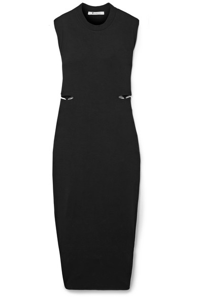 Cutout Stretch Modal Dress by T By Alexander Wang