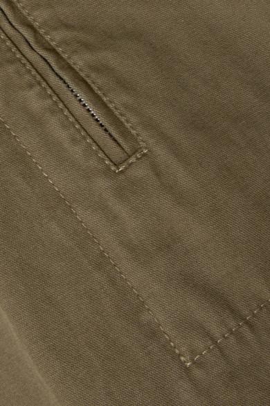 T by Alexander Wang Karottenhose aus vorgewaschenem Baumwoll-Canvas