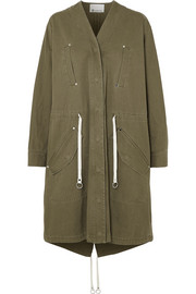 T by Alexander Wang Cotton-twill parka