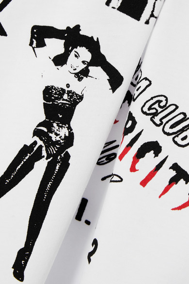 McQ Alexander McQueen Bedrucktes T-Shirt aus Baumwoll-Jersey