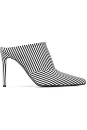 Altuzarra Davidson striped canvas mules