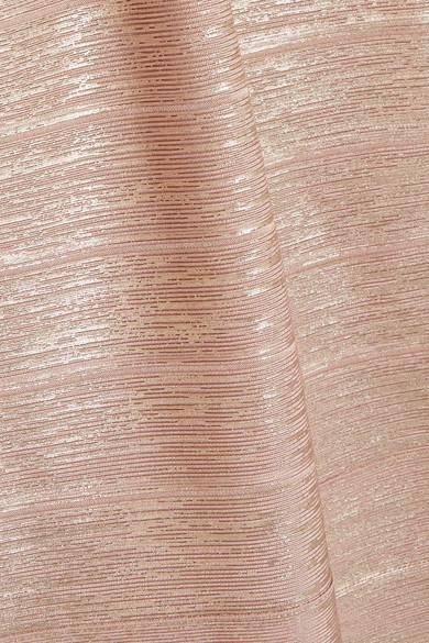 Alle Jahreszeiten Verfügbar Billig Authentisch Auslass Hervé Léger Robe aus Bandage in Metallic-Optik mit Mesh-Einsätzen Angebote Günstig Online Spielraum Besuch Neu Eastbay Günstigen Preis qijk4G7KlJ