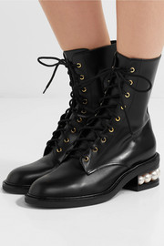 Casati embellished leather boots