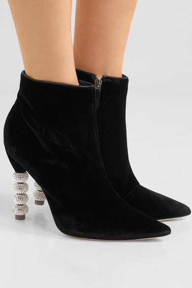 Sophia Webster Coco Crystal boots clearance low shipping fee discount clearance store cheap sale for nice 3gp9A2yG