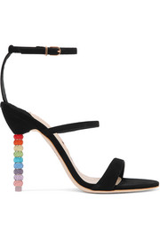 Sophia Webster Rosalind crystal-embellished suede sandals