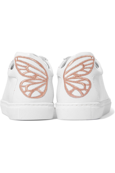 Sophia Webster Bibi Sneakers aus Leder mit Stickerei