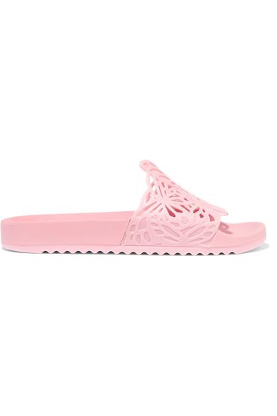 Sies Marjan Pink Lia Butterfly Slides