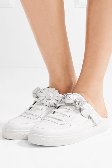 Sophia Webster Lilico Jessie Sneakers aus Leder mit Applikationen