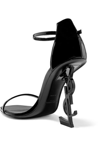 Super Saint Laurent Opyum Sandalen aus Lackleder Fälschung Günstig Online kydWXYq7Ds
