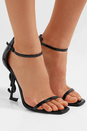 Opyum patent-leather sandals