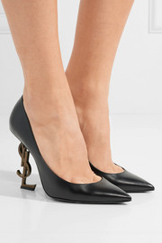 Saint Laurent Opyum leather pumps