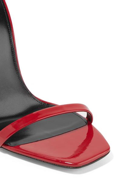 Saint Laurent Opyum Sandalen aus Lackleder Billig Verkauf Nicekicks ehacDVmo