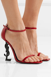 Saint Laurent Opyum patent-leather sandals