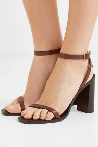 bb893879f3d Saint Laurent. Loulou leather sandals