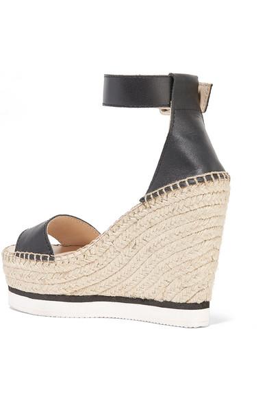 See By Chloe Leder-wedge Sneaker-im Stil