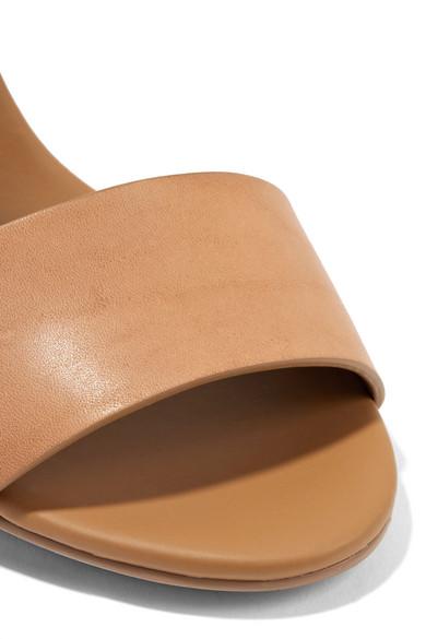 See by Chloé Kristallverzierte Slingback-Sandalen aus Leder Angebot Original Günstig Online 2018 Günstig Online Spielraum Neueste Größte Anbieter Online KY8EQC0xlI