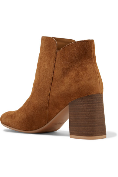 See by Chloé Ankle Boots aus Veloursleder