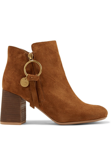 16f0ecea5794d See By Chloé. Suede ankle boots