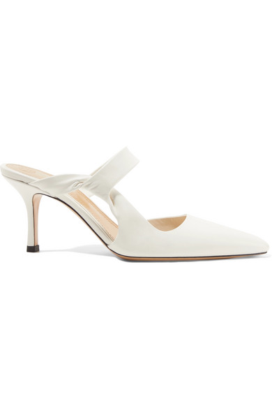 Discount Looking For 2018 Unisex Cheap Online Gala Twist leather mules The Row Discount Cheap Buy Cheap Official Site Discount Extremely 3PV1ZT
