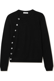 Minamoto embellished merino wool sweater