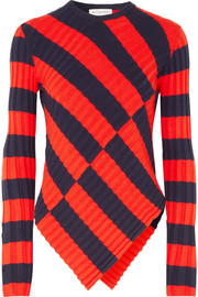 Altuzarra Mullins striped stretch-knit top