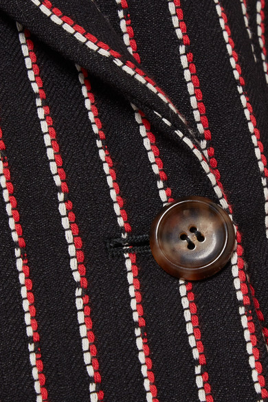 Altuzarra Wall Blazer aus einer Baumwollmischung mit Nadelstreifen