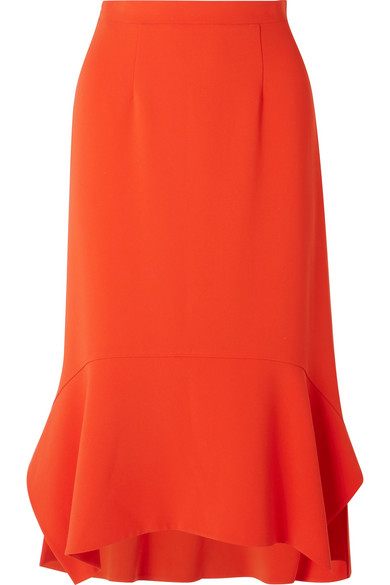 Cheapest Price Online Arthur Peplum Cady Midi Skirt - Orange Altuzarra Buy Cheap Purchase Limited Edition Cheap Price Sale For Nice Outlet Real xfk0iYD