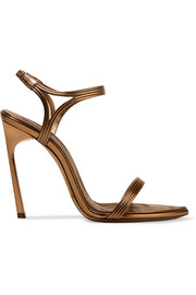 Talitha metallic leather sandals