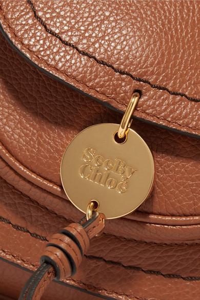 See by Chloé Susie kleine Schultertasche aus strukturiertem Leder