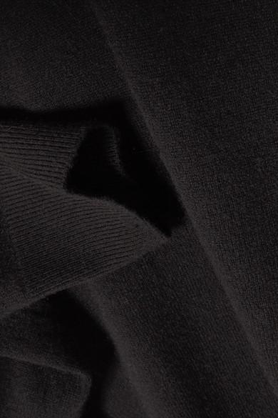 L'Agence Philo Rollkragenpullover aus einer Woll-Kaschmirmischung mit Cut-outs