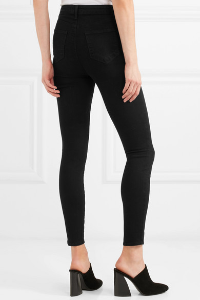 L'Agence Katrina hoch sitzende Skinny Jeans