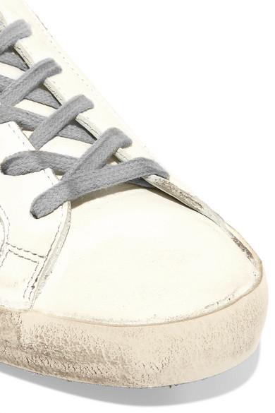 Große Überraschung Günstig Online Golden Goose Deluxe Brand Superstar Sneakers aus Leder in Distressed-Optik mit Glitter-Finish Freies Verschiffen Sehr Billig Gutes Verkauf Günstiger Preis Günstig Kaufen Neueste uamDvM