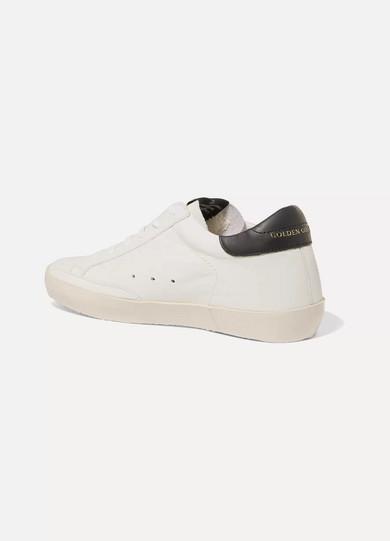 Golden Goose Deluxe Brand Superstar Sneakers aus Leder und Veloursleder Ausgezeichnet Verkauf Neueste EVVSWkDWK