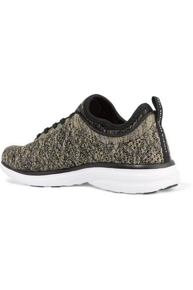 APL Athletic Propulsion Labs TechLoom Phantom 3D Sneakers aus Metallic-Mesh